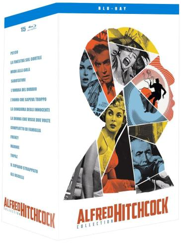 Alfred Hitchcock Complete Collection (15 Blu-Ray)