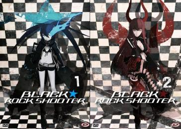 Black Rock Shooter - Serie Completa (Eps 01-08) (2 Blu-Ray+2 Dvd)